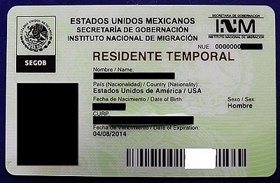 Mexico's Temporary Resident Permit