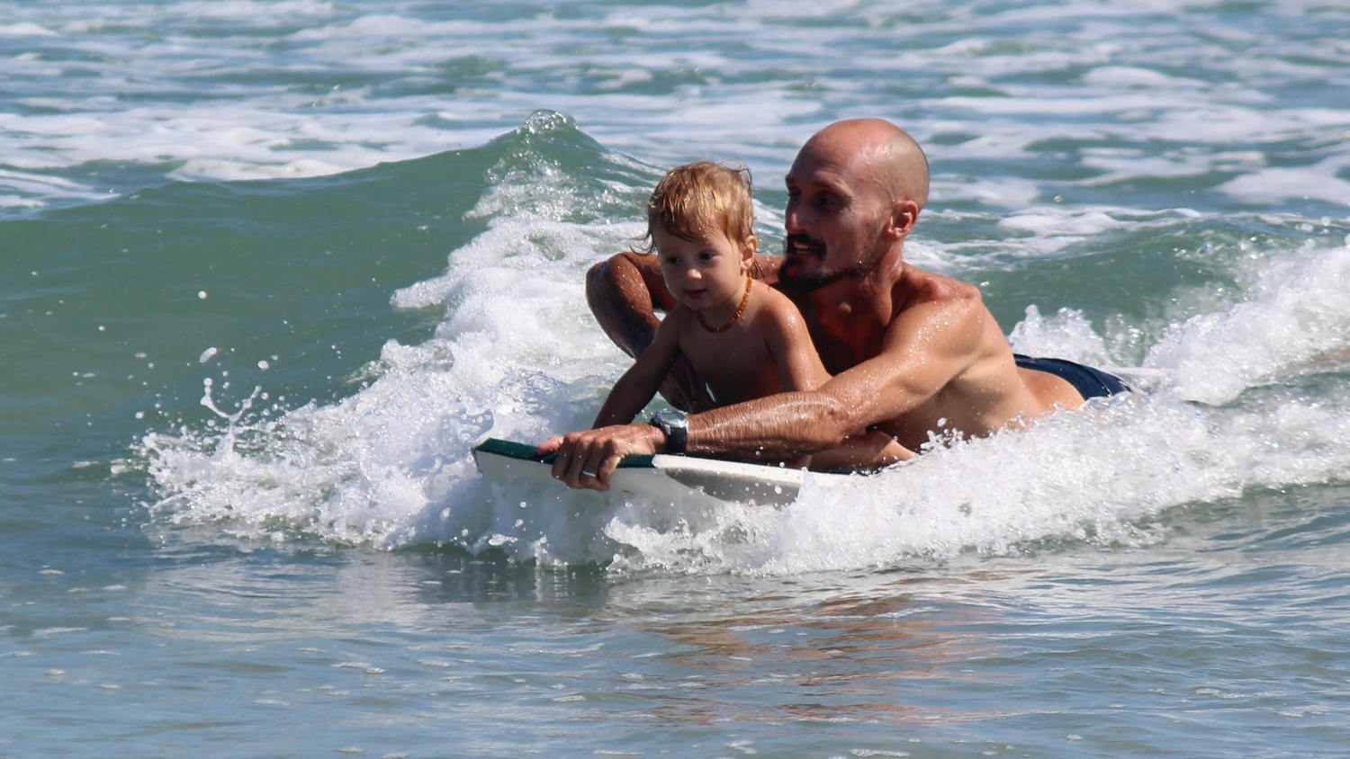 Never too young to surf