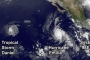 There have been as many as 5 active tropical cyclones in the Eastern Pacific at one time.