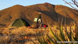 Bicycling and camping down the Baja peninsula