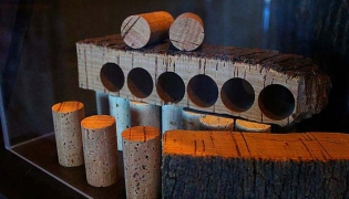 Cork making process