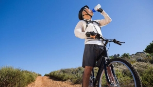 Staying hydrated during periods of physical activity is important in the Baja heat