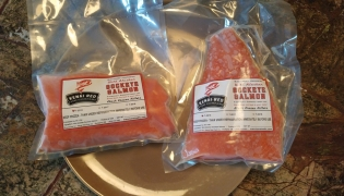 Vacum Packed Kenai Red Salmon