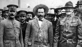 General Pershing meets Pancho Villa