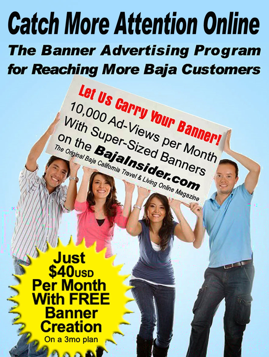Banner advertising programs on the BajaInsider.com