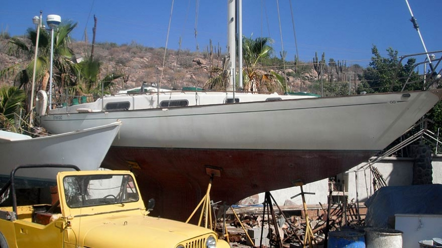 Contessa 32' Diesel, very clean these are an excellent vessel to explore the Sea of Cortez and is ready to sail $28,000USD
