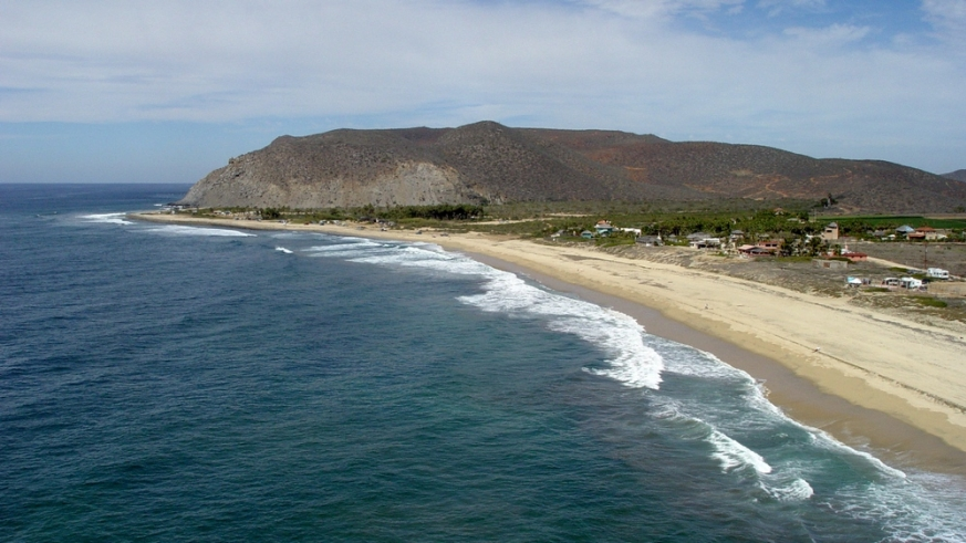 Pescadero Beach and San Pedrito Point