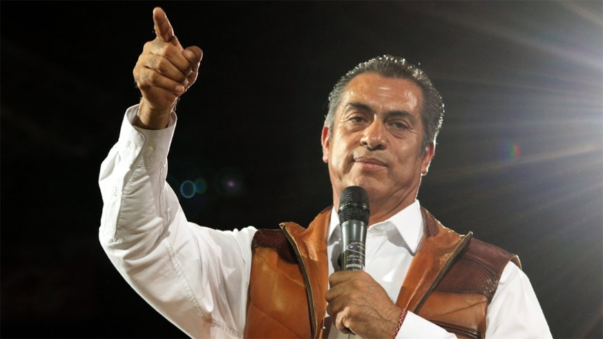 Jaime Heliodoro Rodríguez Calderón (not related) won the governorship of Nuevo León in 2015 and left the PRI to run as an independent