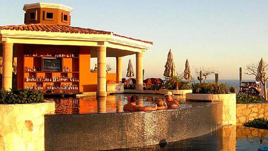 Pool Bar at the Hacienda Encantada