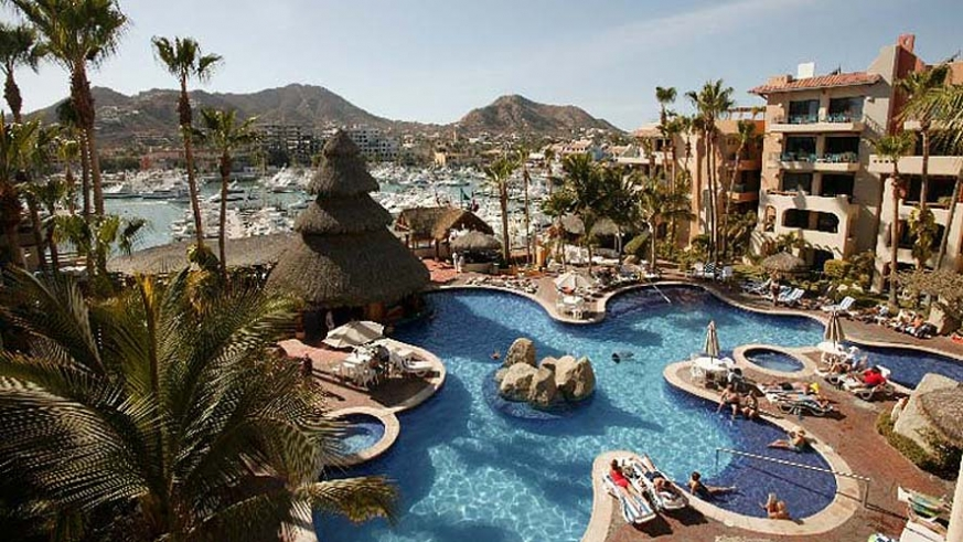 Overview of the Marina Fiesta Resort & Spa