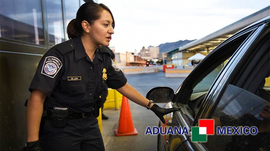 Aduana Mexico inspection point
