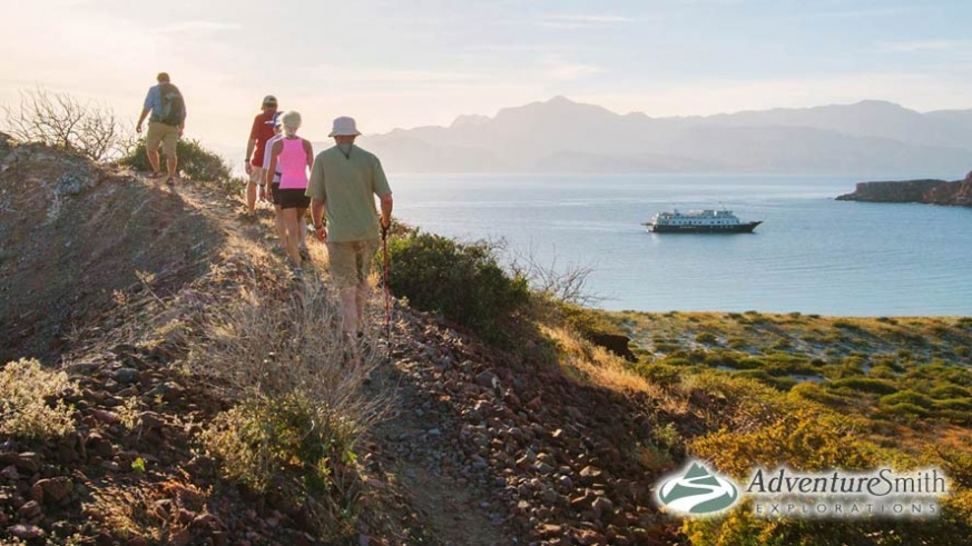 Hiking Isla San Francisco in the Sea of Cortez