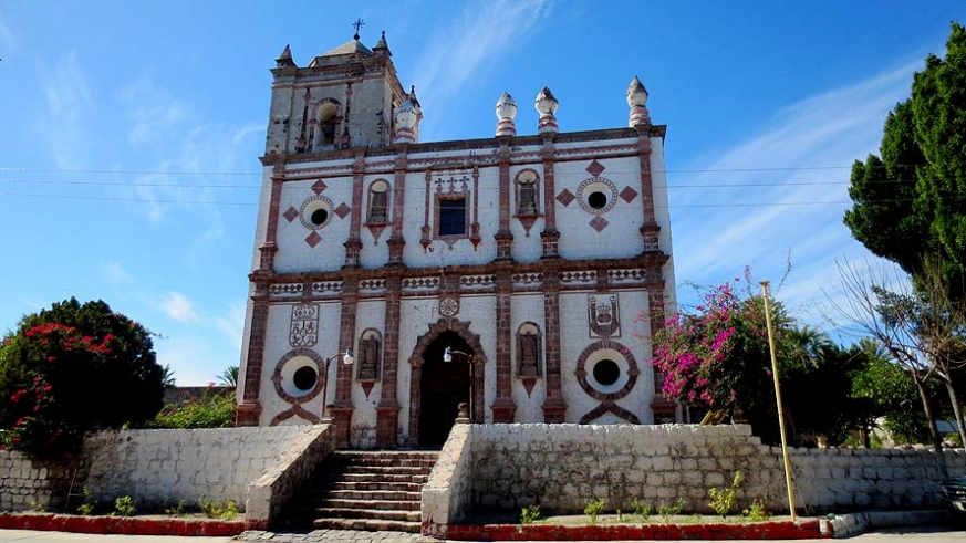 Visit the historic locations of Baja, like San Ignacio