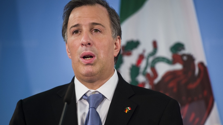 José Antonio Meade, Mexico's former finance secretary is a candidate for the PRI
