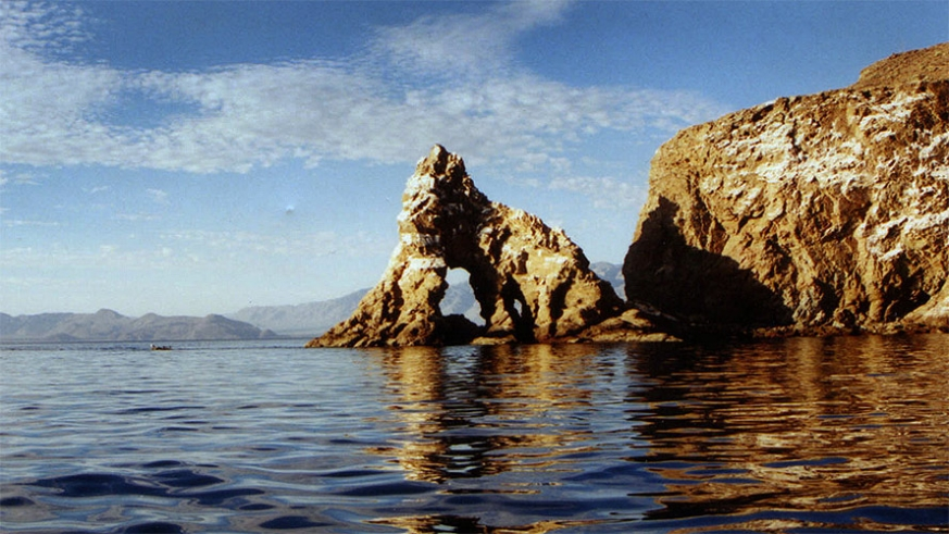 Isla La Ventana in the Bahia de Los Angeles Biosphere Reserve