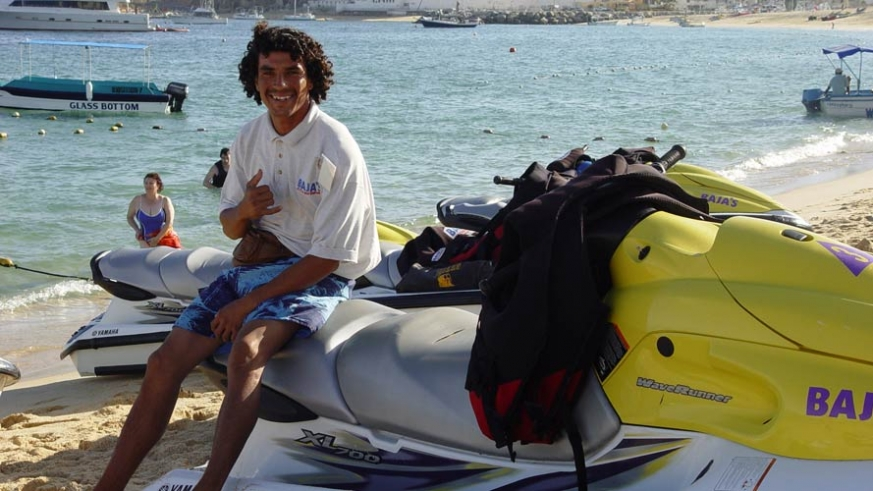 Jet ski rentals on Medano Beach in Cabo San Lucas