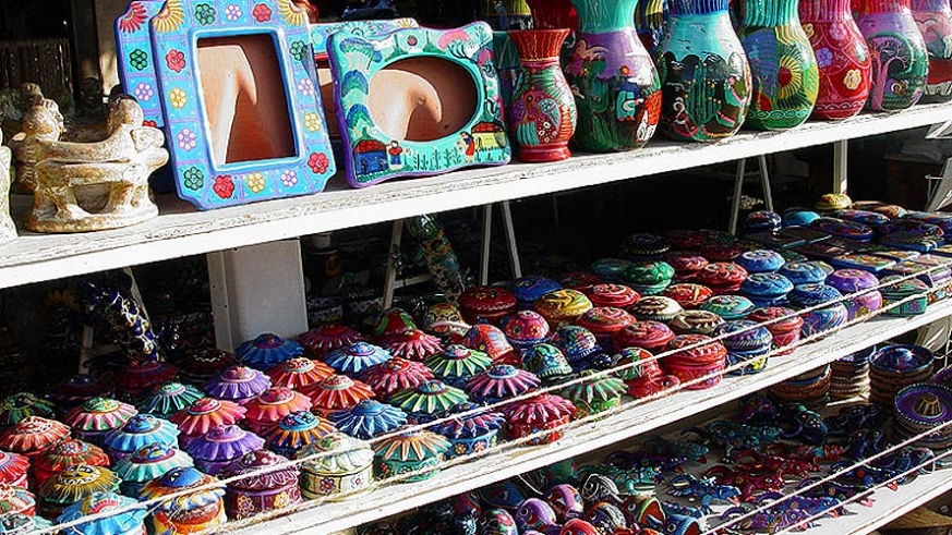 The kind of travel trinket shopping in Cabo San Lucas that is Mexico