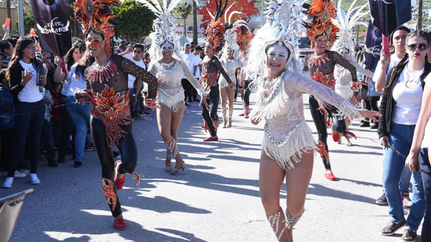Carnaval Ensenada parade 2017