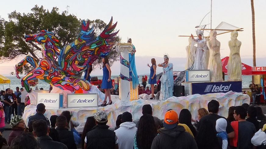 Corporate involvement in Carnaval La Paz has saved the event for the time being