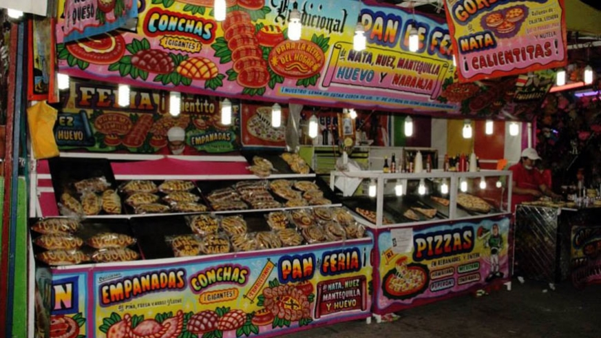 Stuffing your face at Carnaval La Paz is one of the fine points of the week.