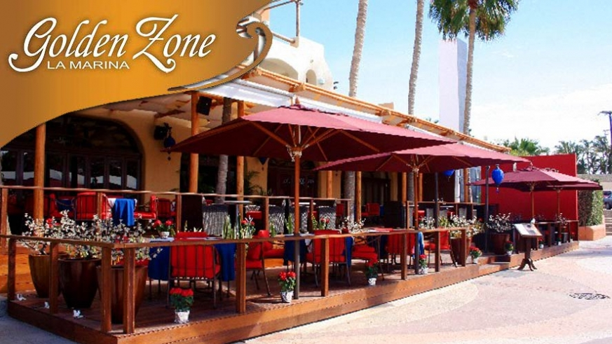 The Baja Lobster Restaurant  in the Marina Golden Zone in Cabo San Lucas