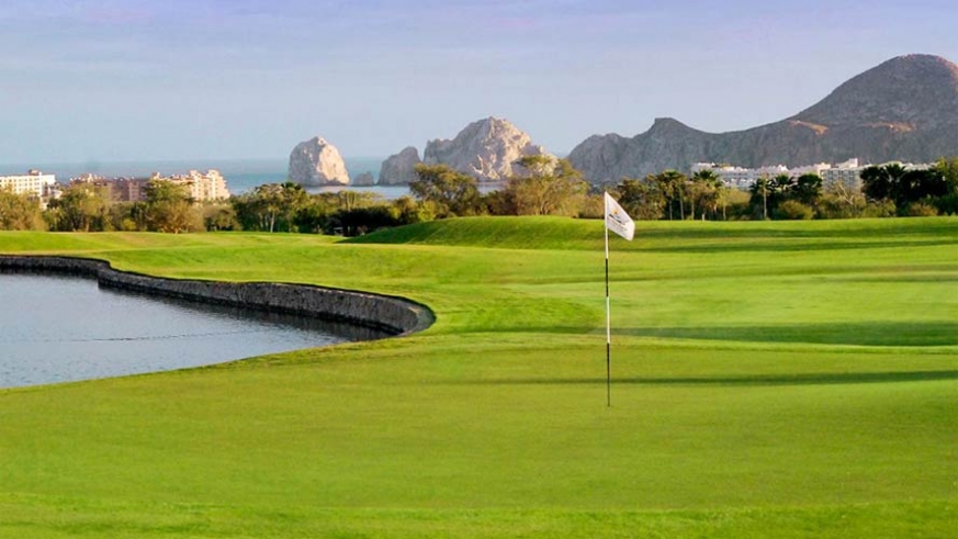 The Cabo Ral Country Club overlooking Land's End in Cabo San Lucas