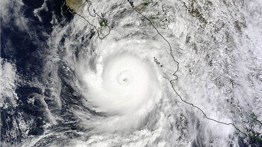 The Baja's Tropical Cyclone Season ends in mid October and the termperature and humidity drop