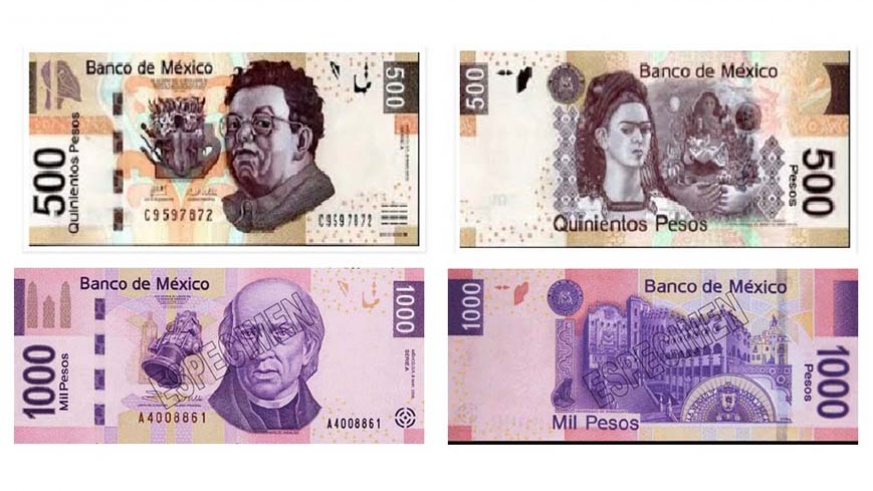 The 500 Mexican Peso Notes