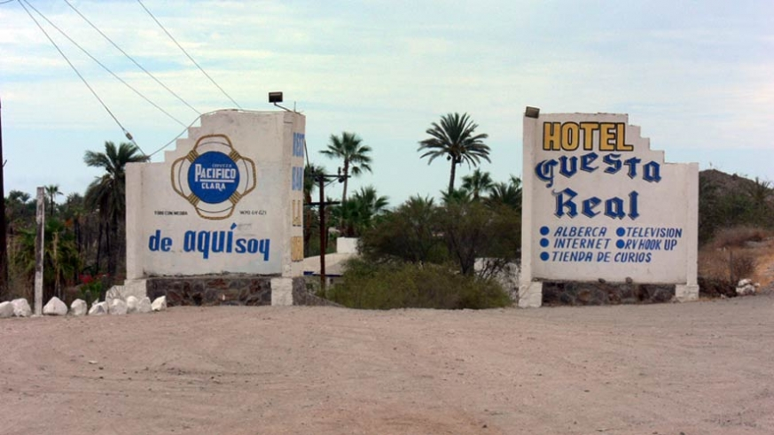 One of the long enduring RV parks in Mulege, Baja California Sur