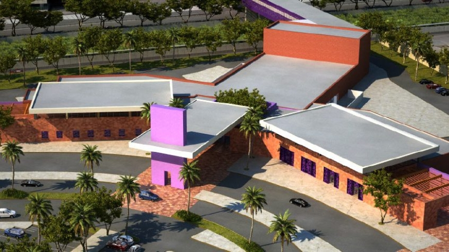 Tijuana airport U.S. Proposed Cross Border Xpress building