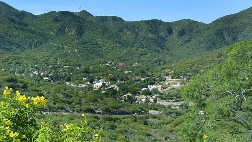 San Antonio nestled in the Sierra Laguna mountains of Baja California Sur