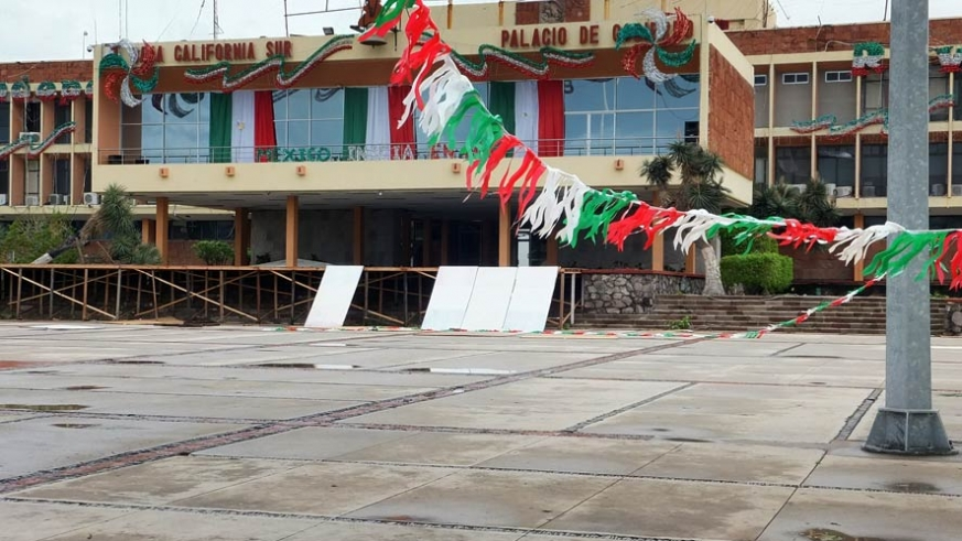 Damage from Hurricane Odile forced the cancellation of Independence Day Celebrations