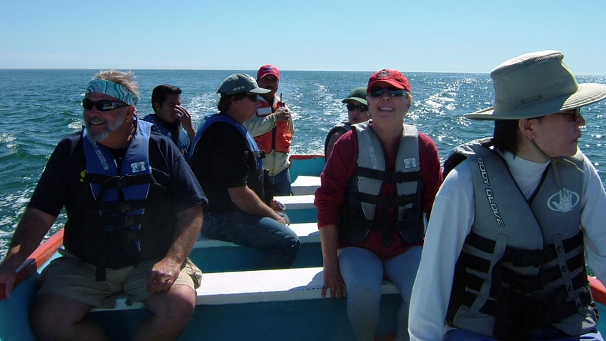 Heading out on a Baja Gray Whale Watching Tour (Ritchie)