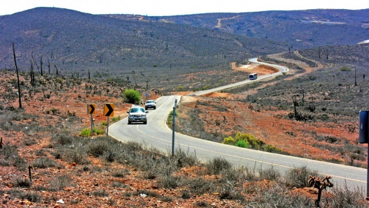 Traffic on Mexico's Highway 1 has increased dramatically over the years, but remains light by northern standards